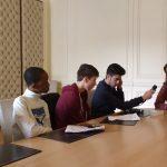 les 2ndes du projet Interclass' interviewent la secrétaire  d'Etat à l'égalité entre hommes et femmes et à la lutte contre les  discriminations, Marlène Schiappa