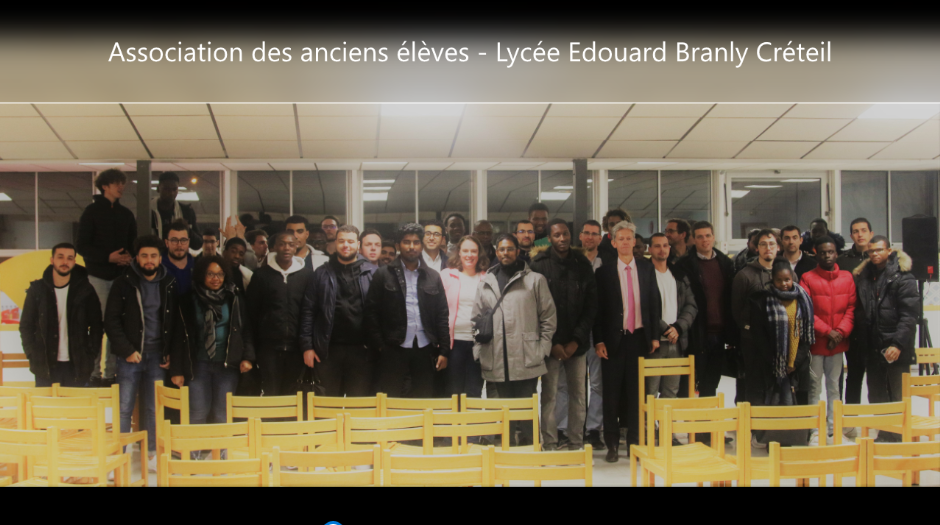 Photo anciens du Lycée Edouard BRANLY