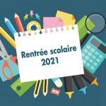 Rentrée 2021 des lycéens et étudiants